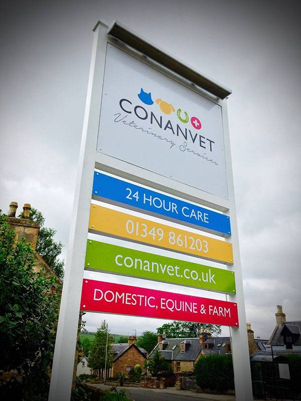 Signage Design - Conanvet - Product View