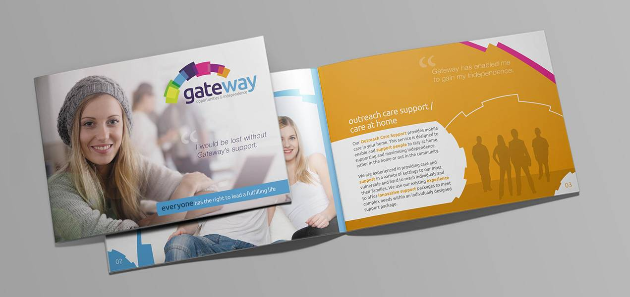 Brochure Design - Gateway - Mockup