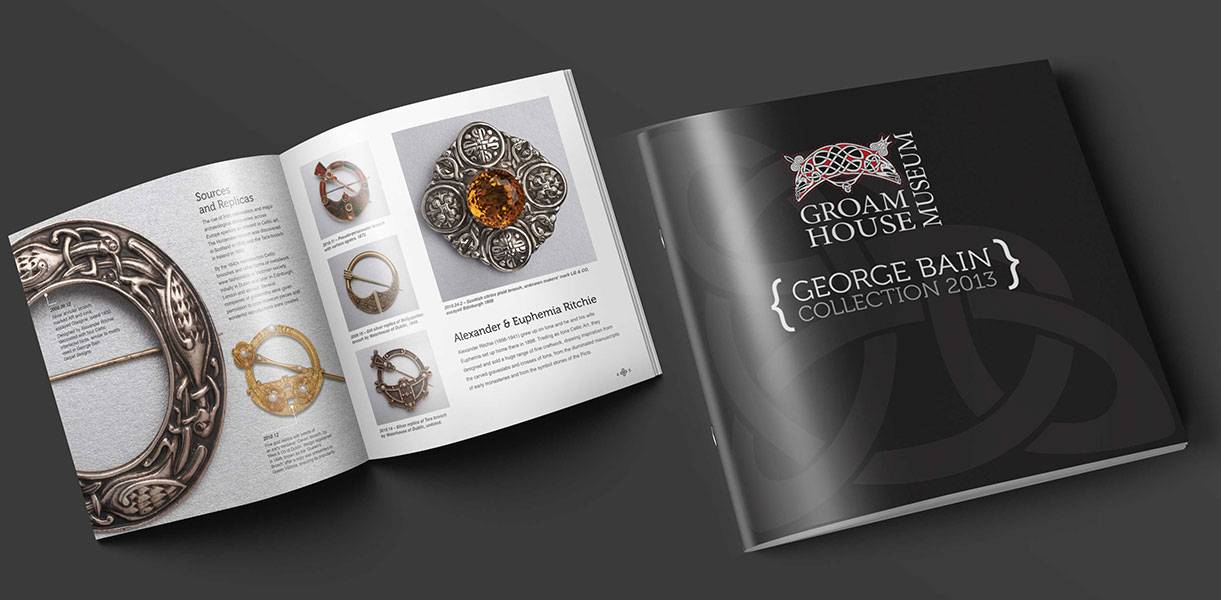 Brochure Design - George Bain - Mockup