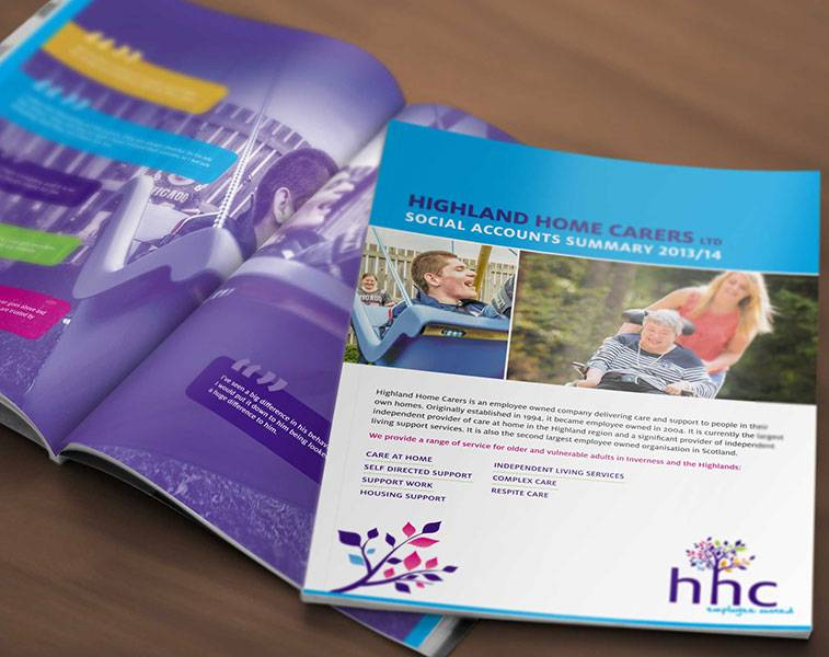 Brochure Design - HHC - Product View