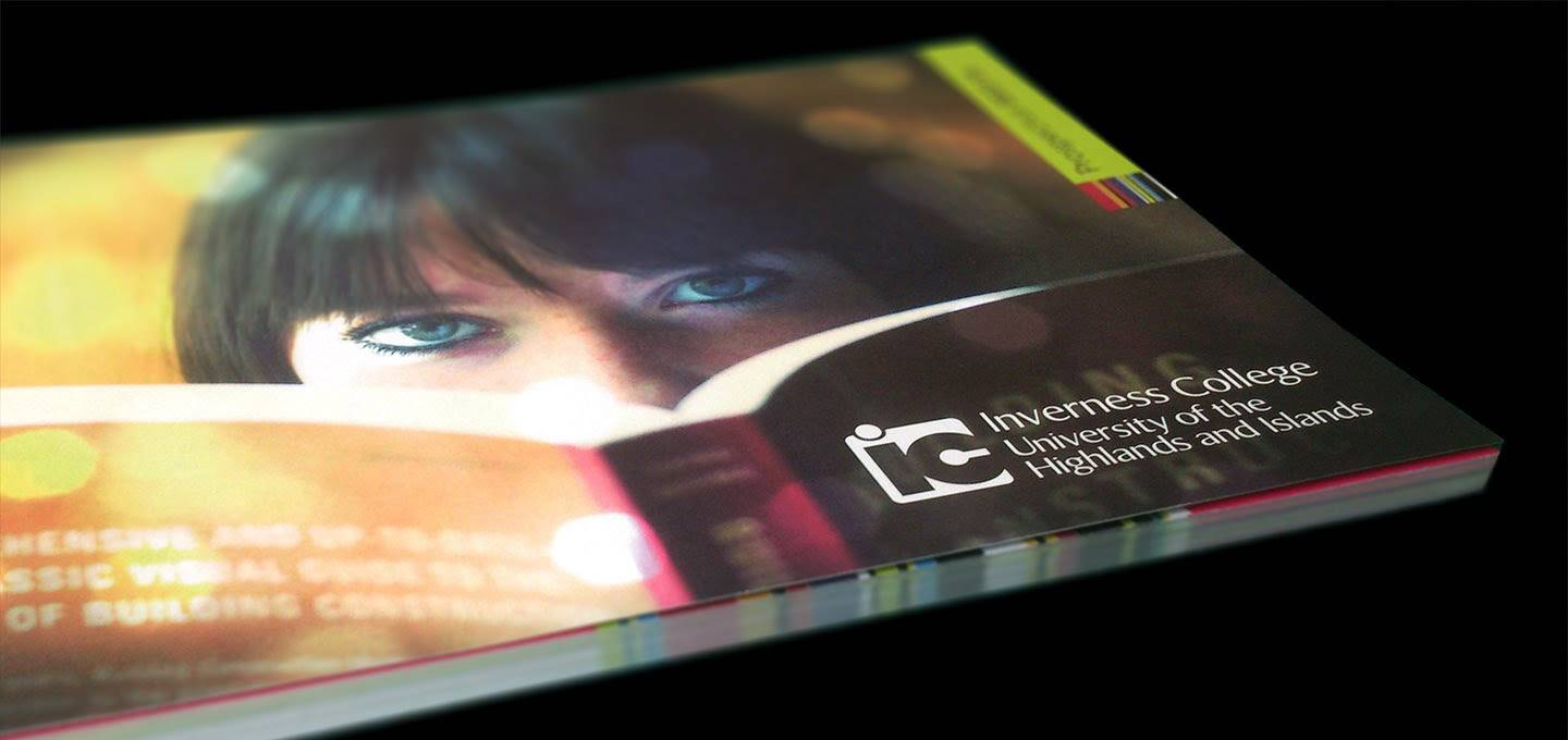 Brochure Design - Inverness College - Product View