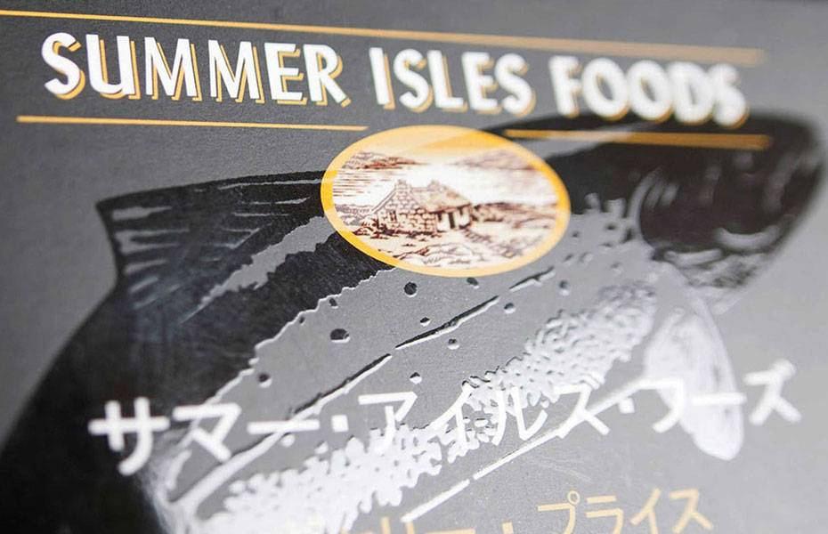 Packaging Design - Summer Isles Foods - Product View