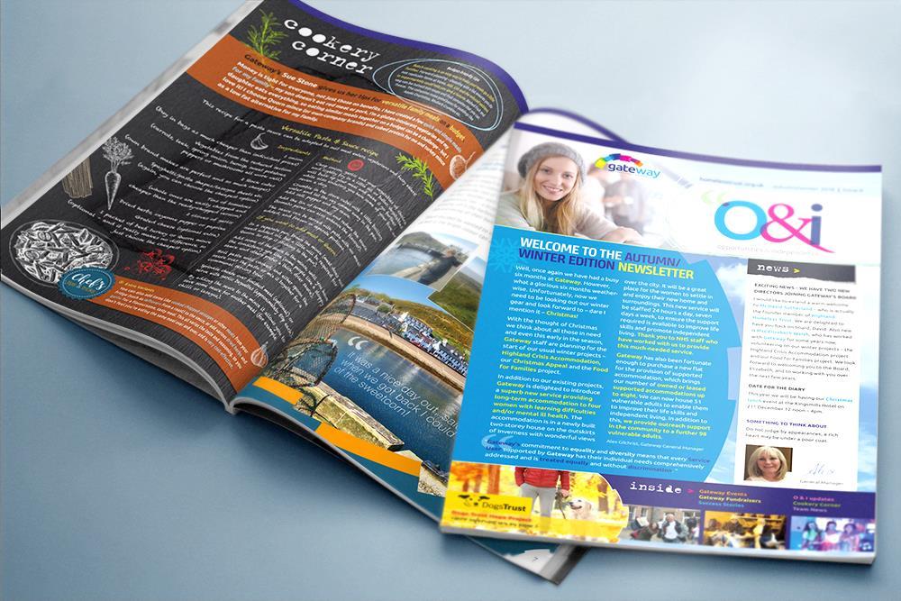 Print publication design