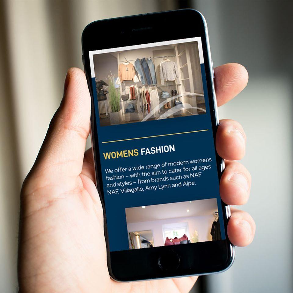 mobile web design Becca Mac Dornoch