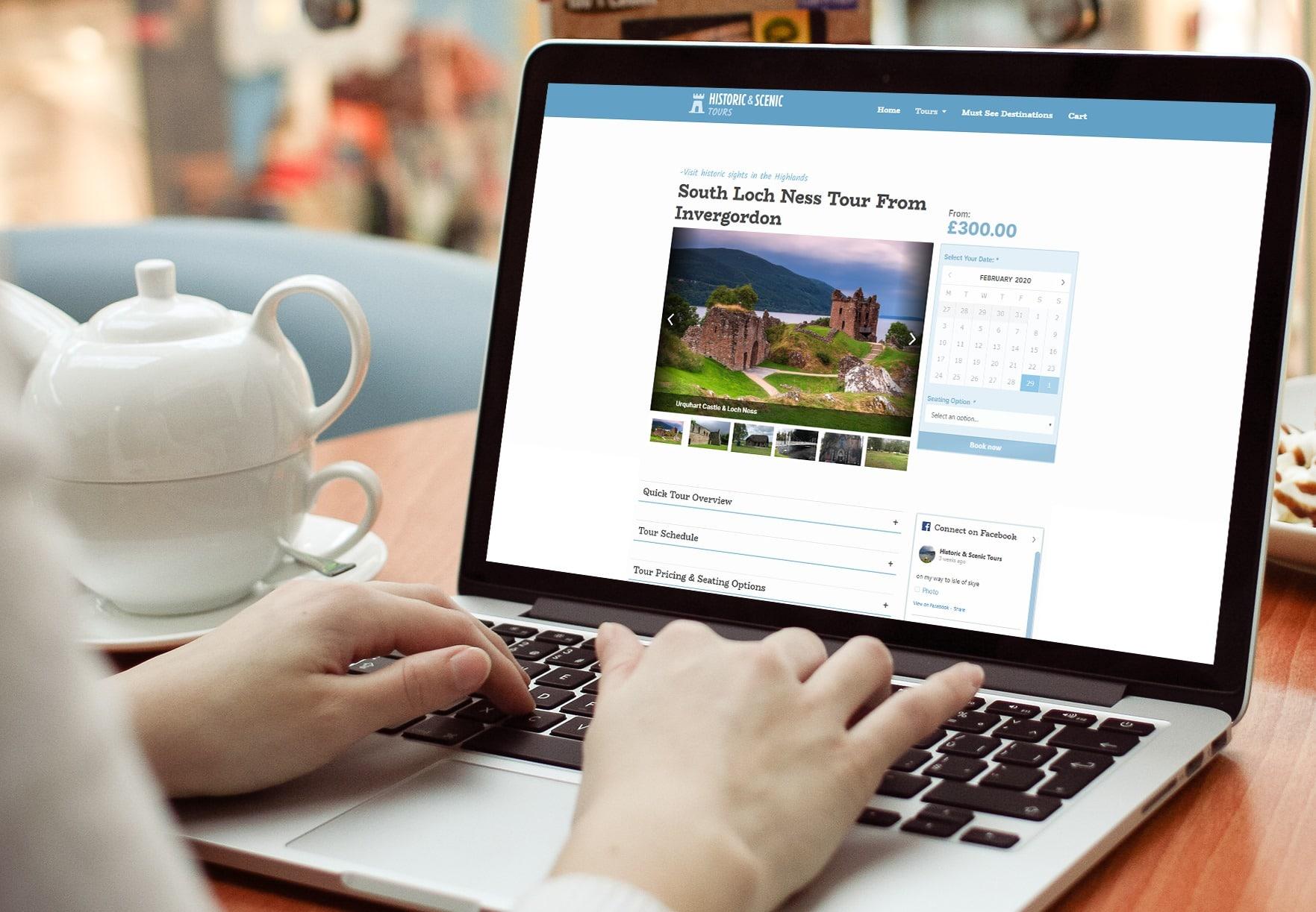 ecommerce website design inverness