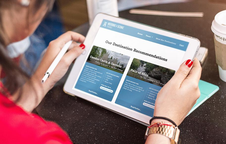 Mobile web design in inverness