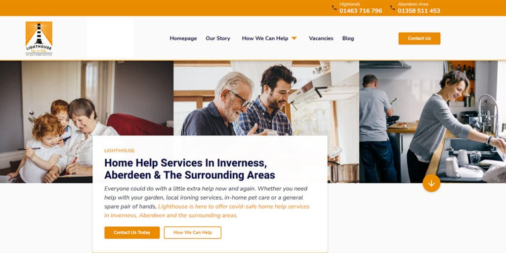 New Website - Lighthouse Reliable Home Services 5