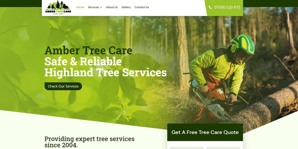New Website - Amber Tree Care 3
